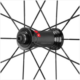 "Fulcrum Racing 5 Jeu de roues route 28"" CA 9-12 vitesses Clincher, black/red"